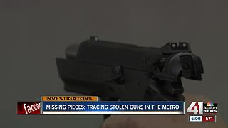 Stolen guns turning up at other crimes - Video