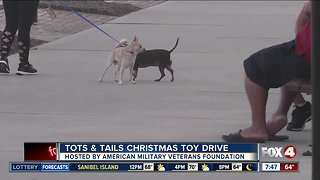 Tots and Tails Christmas Toy Drive