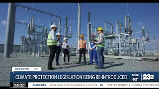 Climate protection legislation being re-introduced