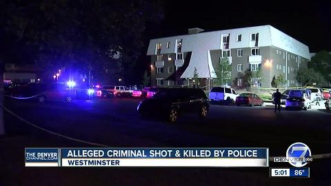 2 killed in 2 separate officer-involved shootings in Colorado Friday evening