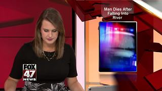 Southeastern Michigan park camper dies after fall into river - Video