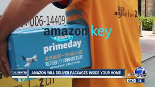 Amazon will deliver packages inside your home - Video
