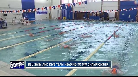 Boise State Swim and Dive team headed to Mountain West Championships