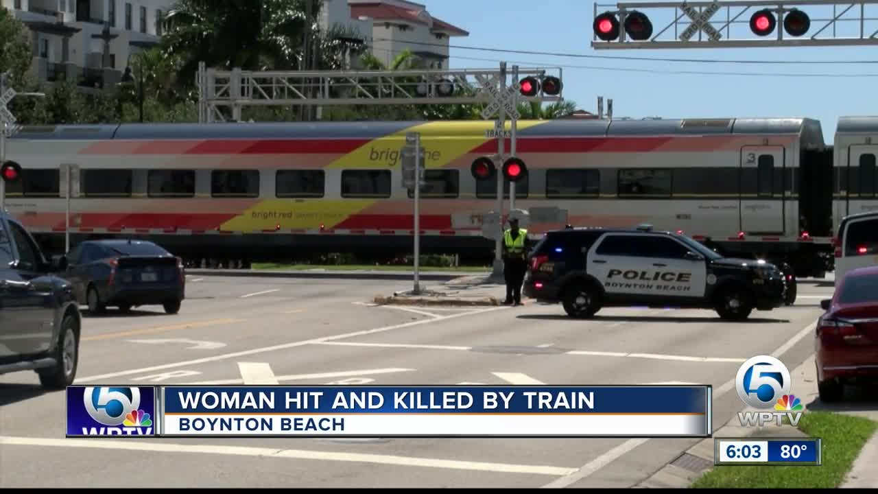 Female pedestrian struck and killed by Virgin Trains USA