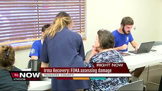 Manatee Co. hurricane survivors have questions for FEMA after damage assessments begin - Video