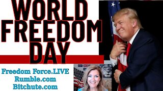 FREEDOM DAY ELECTION - Freedom Force Battalion - Melissa Redpill The World 11-3-20