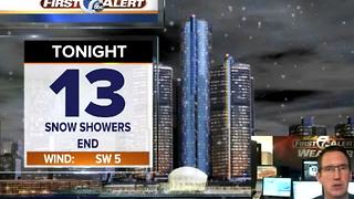 Evening Snow Showers - Video