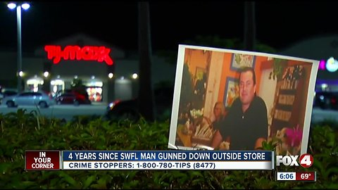 Four years since SWFL man shot outside T.J. Maxx