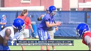 Broncos matchup with Troy could be a QB Battle - Video