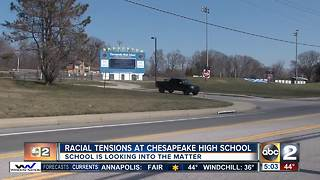 Racial tensions at Chesapeake High School - Video