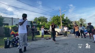 'Vacants' pop-up music project takes over corners in East and West Baltimore