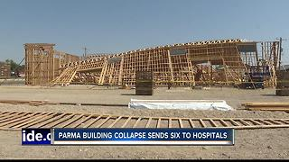 OSHA Investigating Building Collapse in Parma - Video