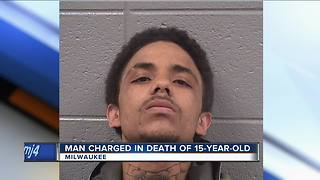 Man charged in death of 15-year-old Milwaukee boy - Video