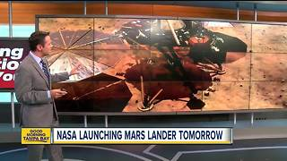 NASA sending robotic geologist to Mars - Video
