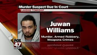 Lansing murder suspect due in court - Video