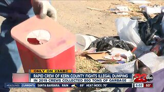illegal dumping in Kern county