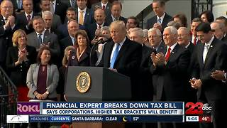 Local expert breaks down GOP tax reform bill - Video