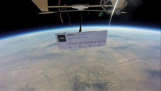 If Anyone Was Going to Prompt the First Protest in Space, It Had to Be Donald Trump - Video