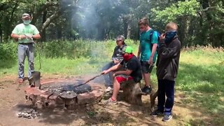 Boy Scouts hold summer camp with limited number of scouts