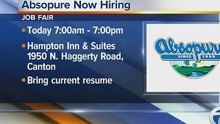 Workers Wanted: Absopure now hiring - Video