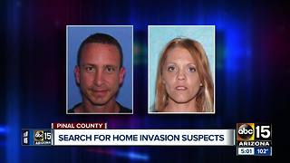 PCSO searching for suspects after deadly home invasion - Video