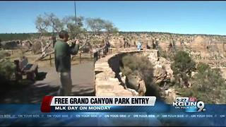 Grand Canyon offers free admission on MLK Day - Video