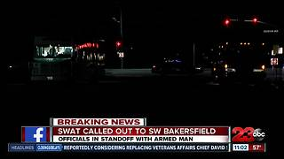 SWAT called out to SW Bakersfield
