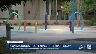 Tempe opens parks with safety in mind