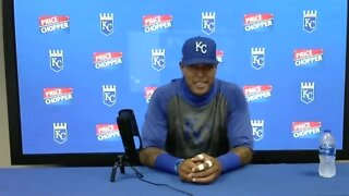 Smiling Salvy returns to Royals after bout with COVID-19