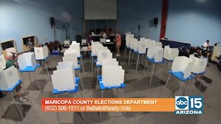 Maricopa County Elections Department shares important information about the November General Election