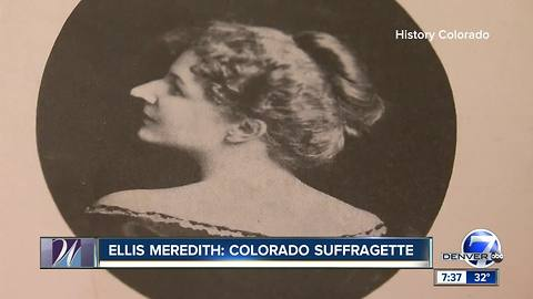 Ellis Meredith, Colorado Women's Hall of Fame Class of 2018