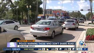 Delray Beach increases efforts to reduce pedestrian, bicycle crashes - Video