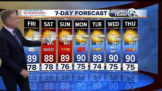 Thursday night forecast - Video