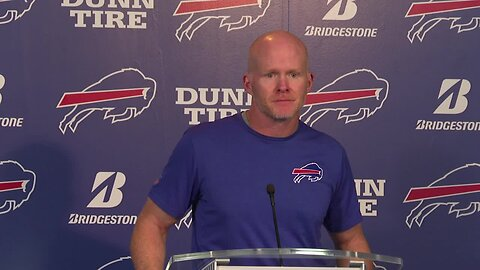 Bills coaches speak following team's loss to Eagles and ahead of Redskins game