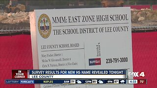 Results expected in poll for new high school name in Lee County