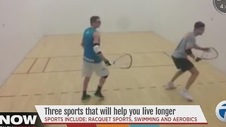 Three sports to help you live longer - Video