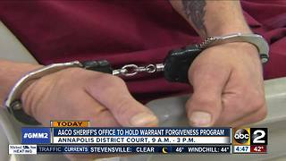 Have a warrant? Anne Arundel County wants to help - Video