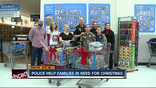 Brooksville police help needy families buy Christmas gifts for kids - Video
