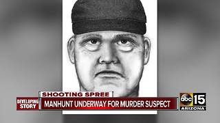 Police searching for murder suspect in the Valley