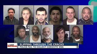 Police, Wayne County deputies fail to collect DNA samples from convicts