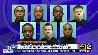 Third Baltimore City officer to plead guilty in fraud case