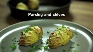 Mini hasselback potatoes - Video