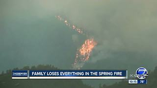 Families hope to rebuild after Spring Fire: 'Everything is gone' - Video