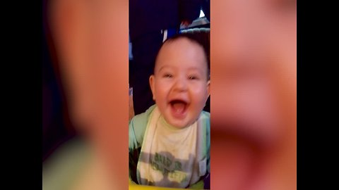 CUTE ALERT: This Baby Laughing is too Precious!