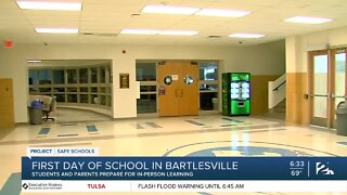 Bartlesville Public Schools, First Day of School
