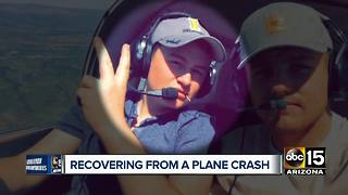 Brody Burnell recovering from plane crash - Video