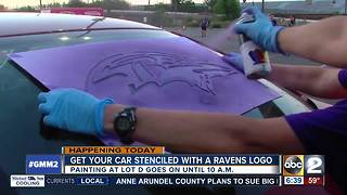 Paint the Town Purple for the Ravens season opener - Video