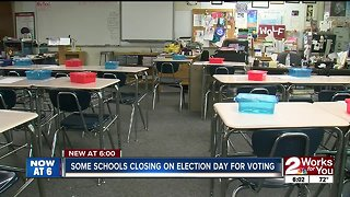 Some schools closed on election day