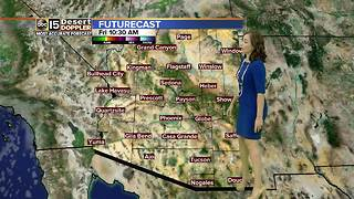 Highs over 105 degrees in the Valley - Video