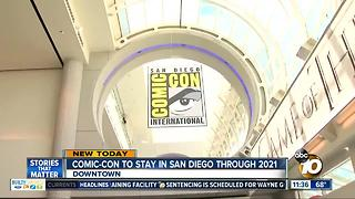 San Diego, Comic-Con agree to 3-year extension - Video